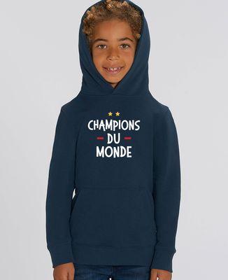 Hoodie enfant Champions du monde