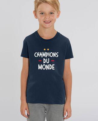 T-Shirt enfant Champions du monde