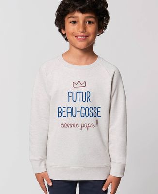 Sweatshirt enfant Futur beau gosse