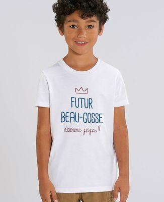 T-Shirt enfant Futur beau gosse