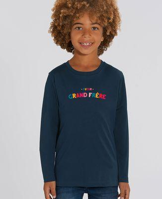 T-Shirt enfant manches longues Futur grand frère