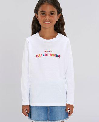 T-Shirt enfant manches longues Future grande soeur