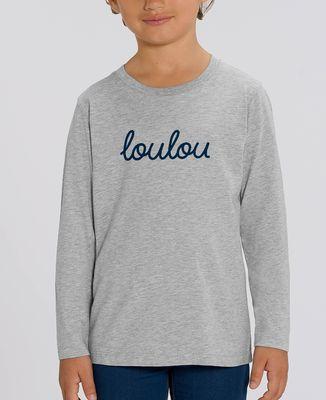 T-Shirt enfant manches longues Loulou