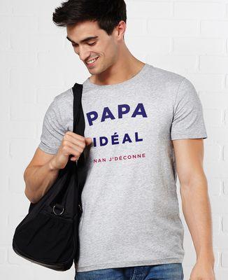 T-Shirt homme Papa idéal