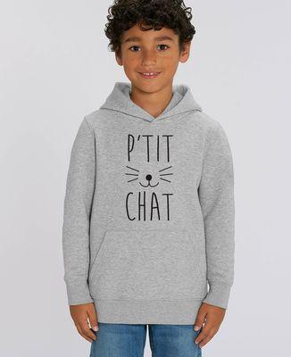 Hoodie enfant P'tit chat