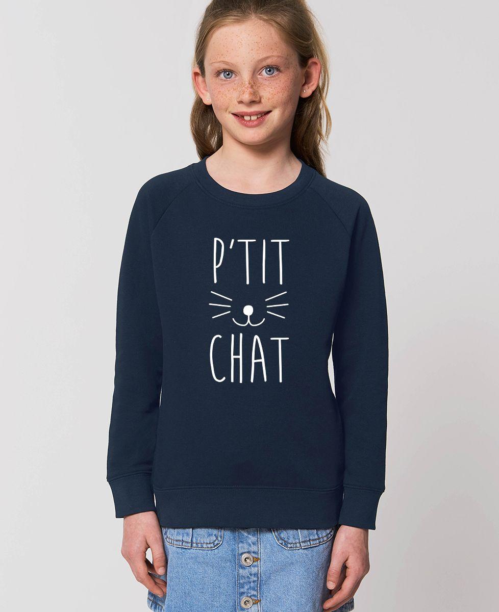 Sweatshirt enfant P'tit chat