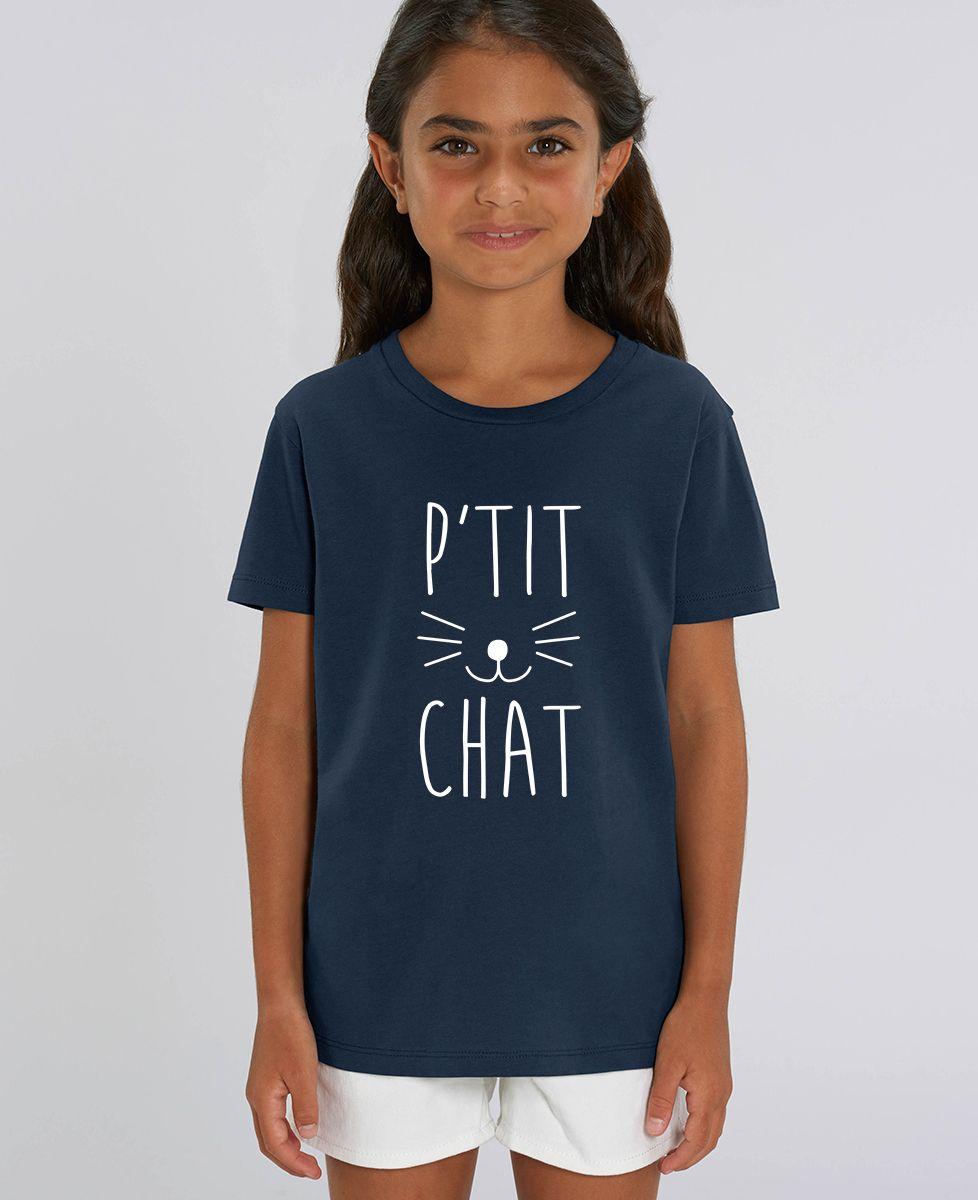 T-Shirt enfant P'tit chat