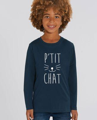 T-Shirt enfant manches longues P'tit chat