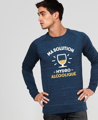 Sweatshirt homme Ma Solution Hydroalcoolique