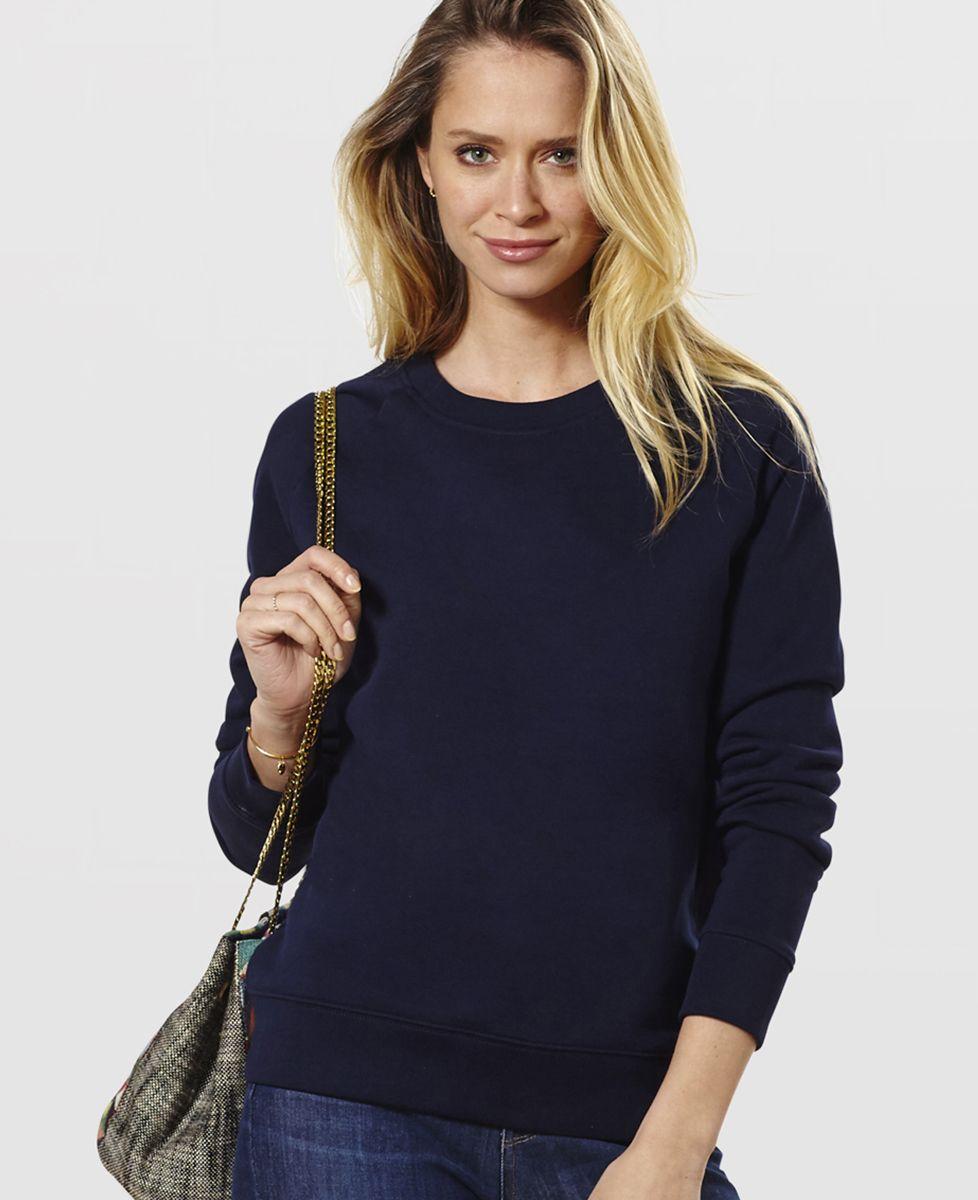 Sweatshirt femme C'est prévu pour Personnalisé
