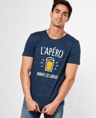 T-Shirt homme L'apéro avant les abdos