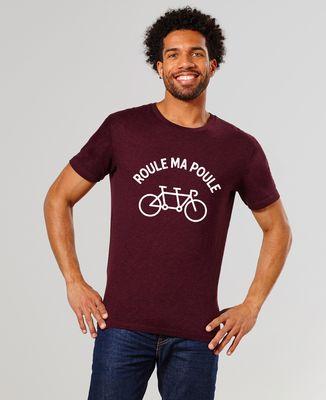 T-Shirt homme Roule ma poule