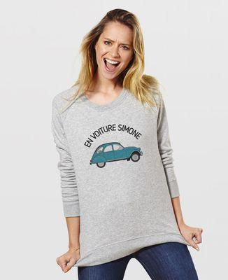 Sweatshirt femme En voiture Simone