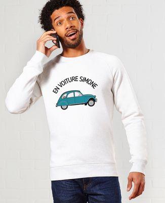 Sweatshirt homme En voiture Simone