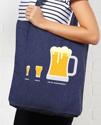 Tote bag Bière de fin du confinement