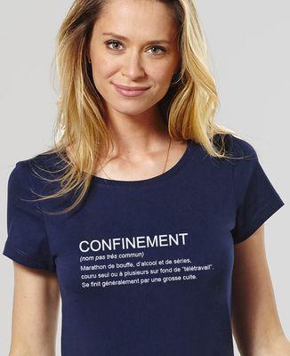 T-Shirt femme Confinement définition