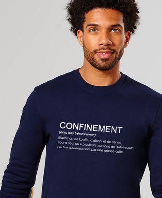 Sweatshirt homme Confinement définition