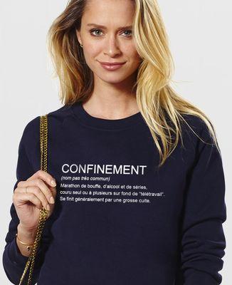 Sweatshirt femme Confinement définition