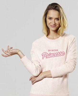 Sweatshirt femme En mode princesse