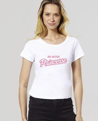 T-Shirt femme En mode princesse