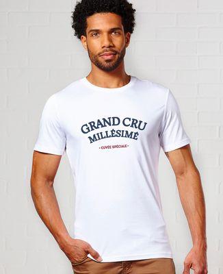 T-Shirt homme Grand cru millésimé