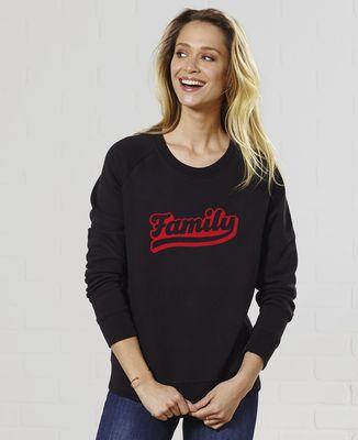 Sweatshirt femme Family
