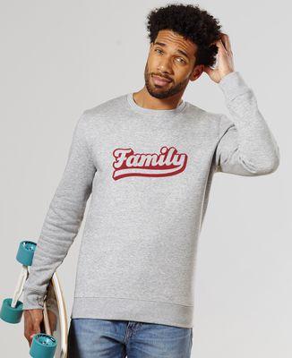 Sweatshirt homme Family