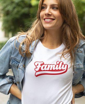 T-Shirt femme Family