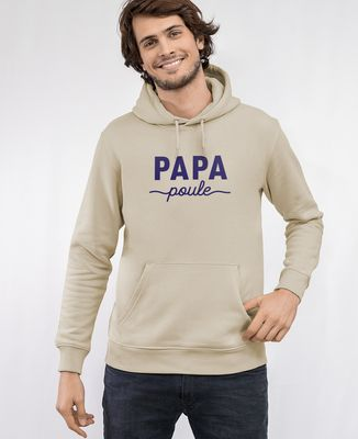 Hoodie homme Papa poule II