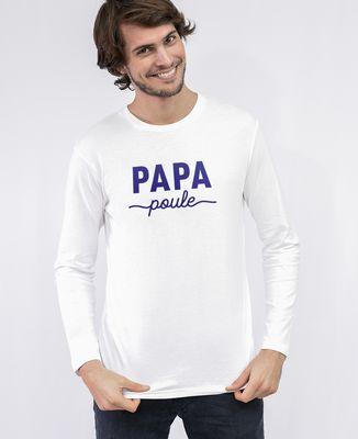 T-Shirt homme manches longues Papa poule II