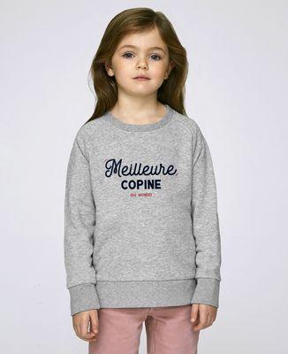 Sweatshirt enfant Meilleure copine