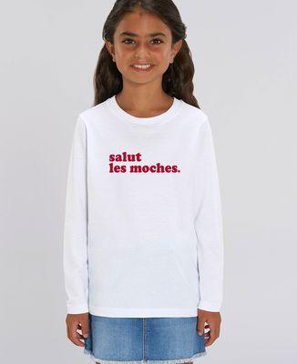 T-Shirt enfant manches longues Salut les moches (homme)