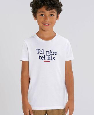 T-Shirt enfant Tel père tel fils
