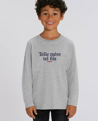 T-Shirt enfant manches longues Telle mère tel fils