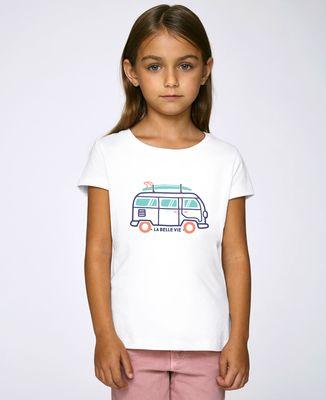 T-Shirt enfant La belle vie en van