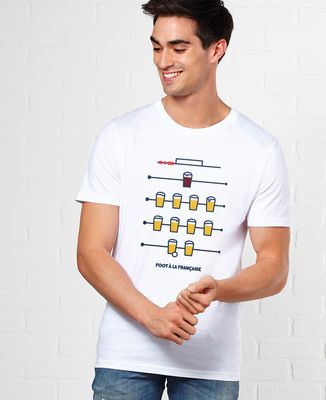 T-Shirt homme Foot à la Française