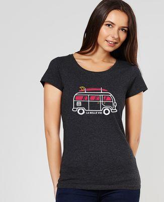 T-Shirt femme La belle vie en van