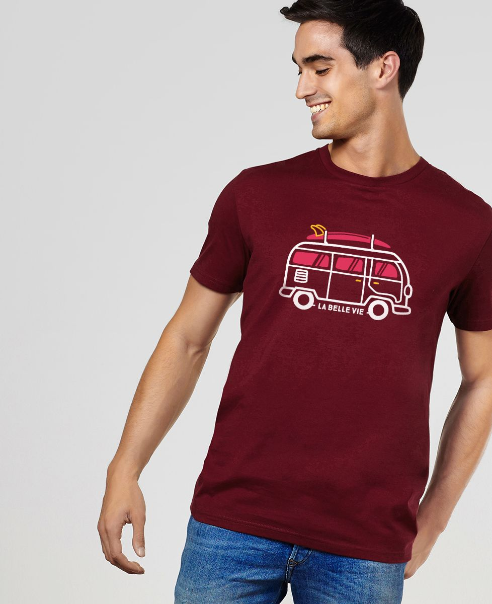 T-Shirt homme La belle vie en van