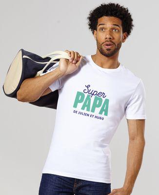 Demina image photo personnalisé t shirt impression fête des pères anniversaire occasion spéciale