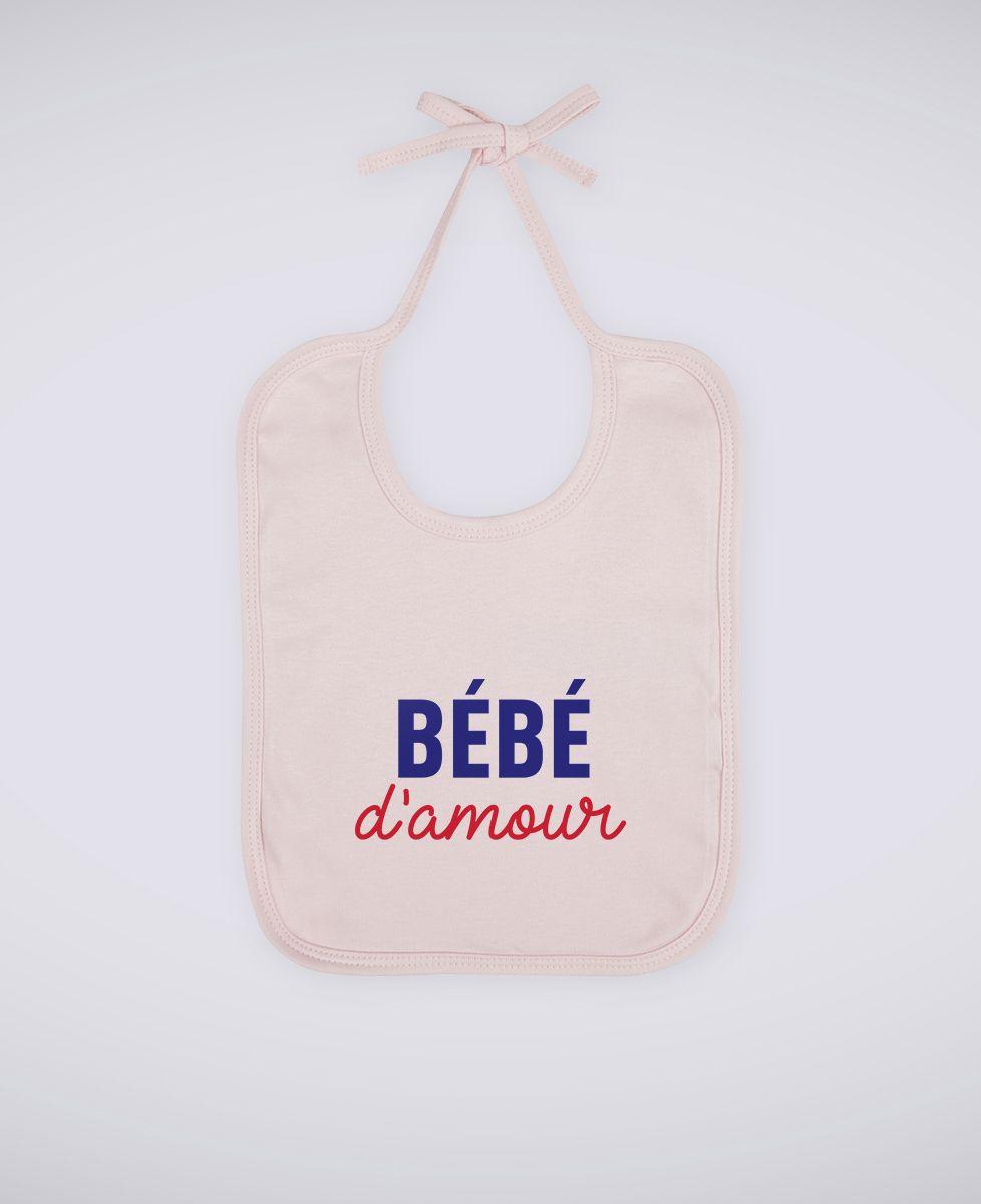 Bavoir Bébé d'amour