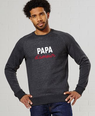 Sweatshirt homme Papa d'amour
