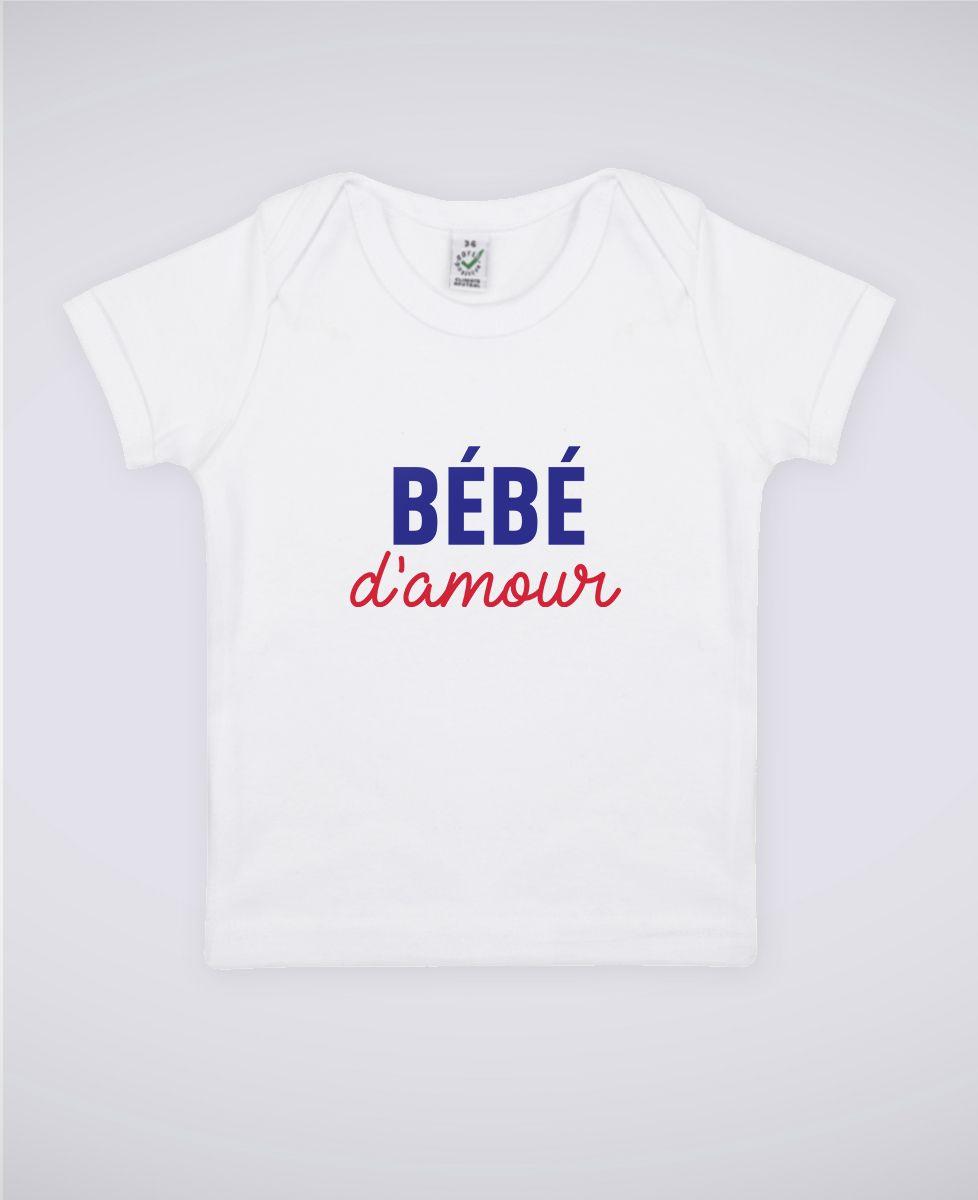 T-Shirt bébé Bébé d'amour