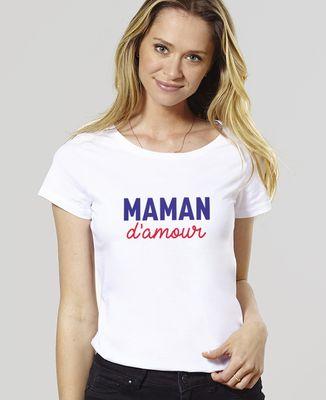 T-Shirt femme Maman d'amour