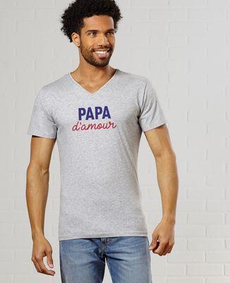 T-Shirt homme Papa d'amour