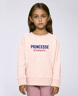 Sweatshirt enfant Princesse d'amour