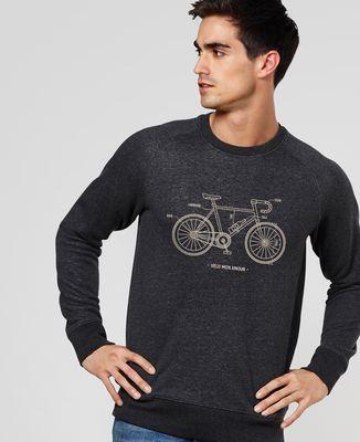 Sweatshirt homme Vélo Mon Amour