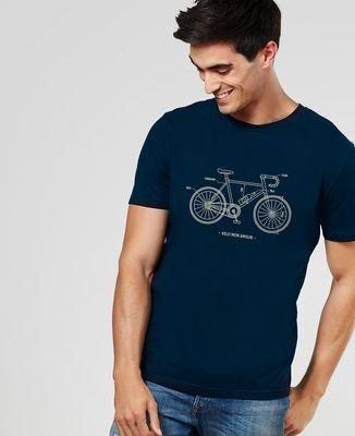 T-Shirt homme Vélo Mon Amour