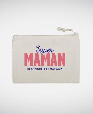 Pochette Super Maman personnalisé