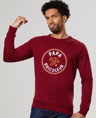Sweatshirt homme Papa bricoleur