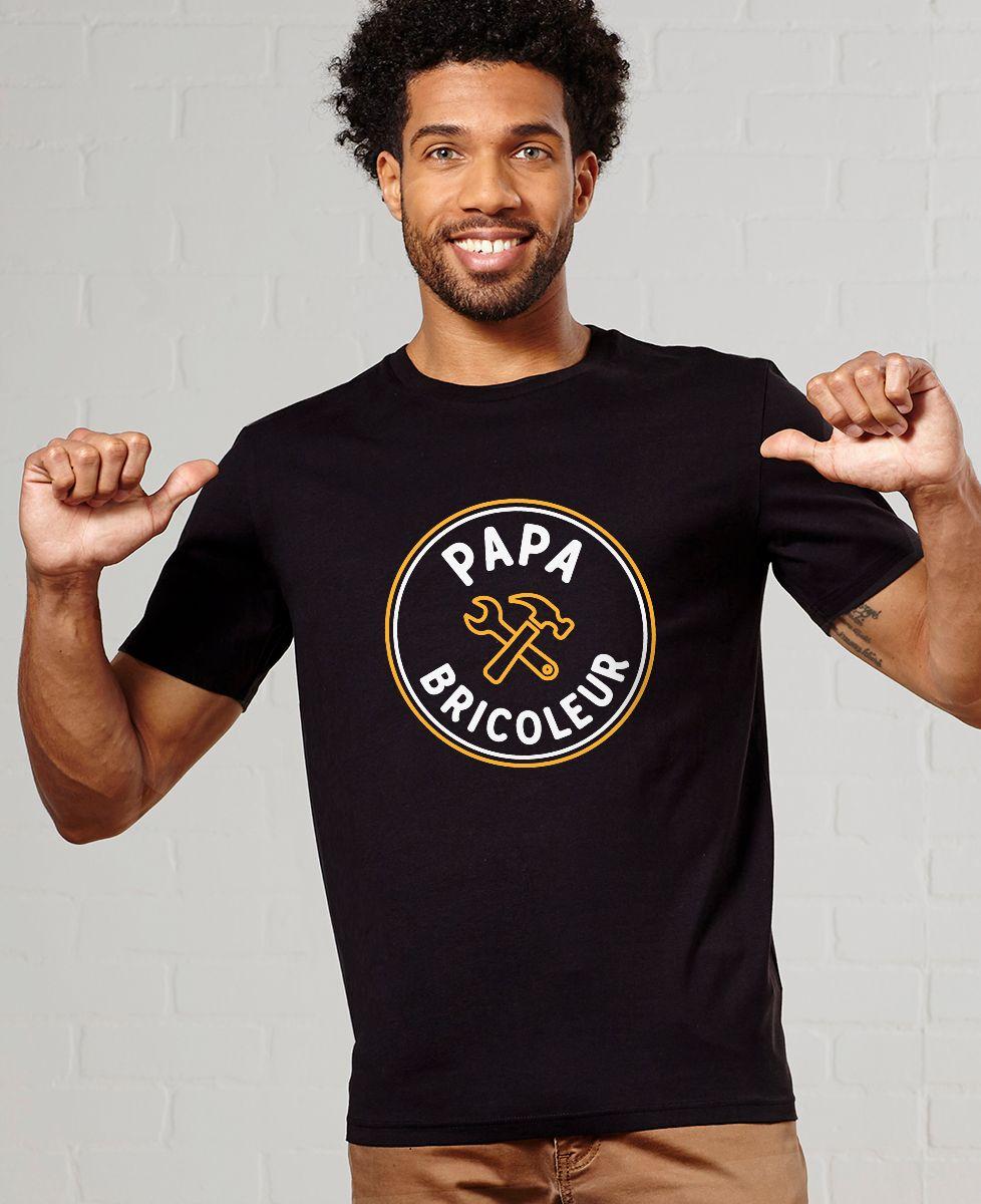 T-Shirt homme Papa bricoleur